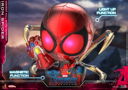 Hot Toys COSB654 Iron Spider (Instant Kill Mode Version) Cosbaby (S) Bobble-Head