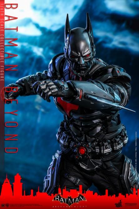 Hot Toys 1/6th Scale VGM39 Batman: Arkham Knight Batman Beyond Collectible Figure
