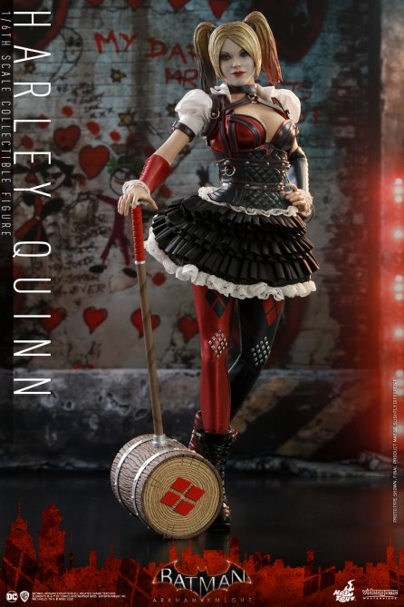 Hot Toys 1/6th Scale VGM41 Batman: Arkham Knight Harley Quinn Collectible Figure