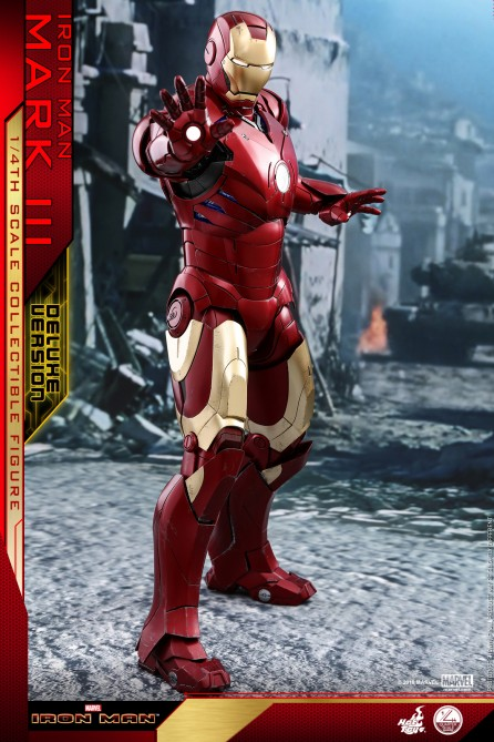 Hot Toys 1/4th Scale QS012 Mark III (Deluxe Version) Collectible Figure