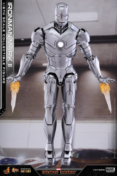 Hot Toys 1/6th Scale MMS431D20 Iron Man Mark II Collectible Figure