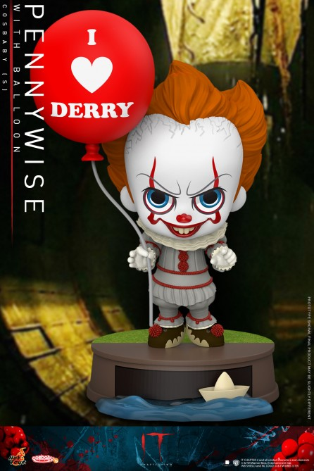 Hot Toys COSB684 IT Chapter 2 Pennywise with Balloon Cosbaby (S)