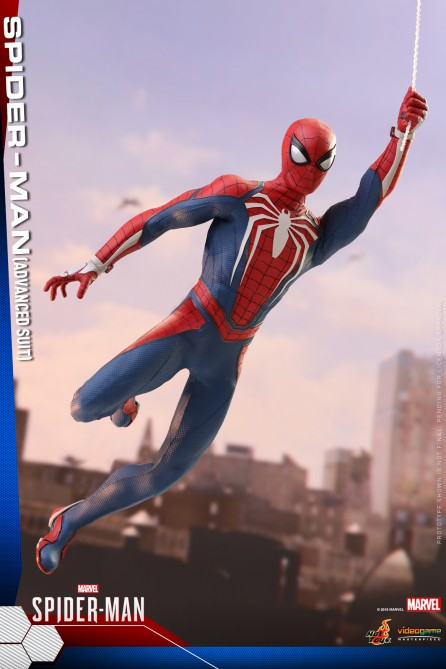 Hot Toys 1/6th Scale VGM31 Marvel's Spider-Man (Advanced Suit) Collectible Figure