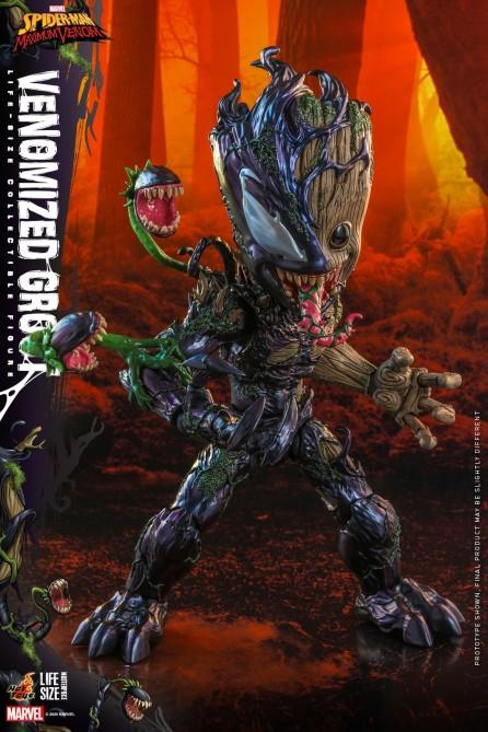 Hot Toys LMS014 The Spider-Man: Maximum Venom Venomized Groot Life-Size Collectible Figure