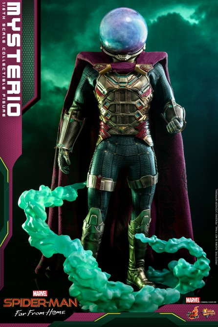 Hot Toys 1/6th Scale MMS556 Spider-Man: Far From Home Mysterio Collectible Figure