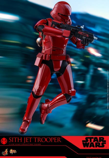 Hot Toys 1/6th Scale MMS562 Star Wars: The Rise of Skywalker Sith Jet Trooper Collectible Figure