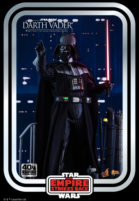 Hot Toys 1/6th Scale MMS572 Star Wars: Darth Vader Collectible Figure (The Empire Strikes Back 40th Anniversary Collection)