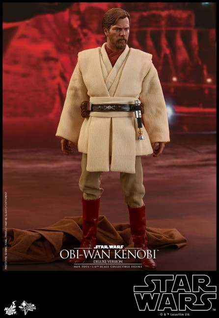 Hot Toys 1/6th Scale MMS478 Star Wars: Episode III Revenge of the Sith Obi-Wan Kenobi (Deluxe Version)