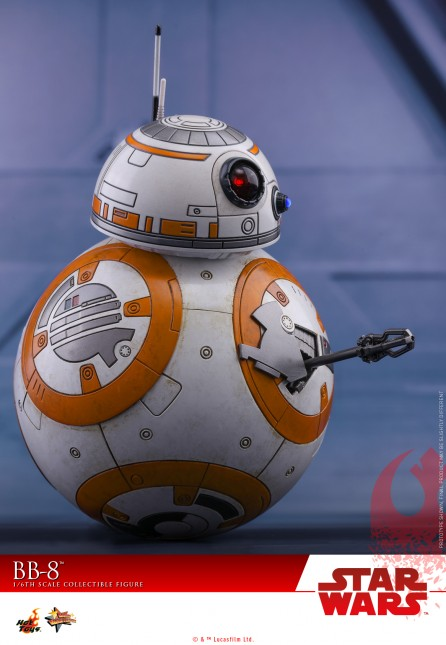 Hot Toys 1/6th Scale MMS440 Star Wars: The Last Jedi BB-8 Collectible Figure