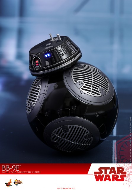 Hot Toys 1/6th Scale MMS441 Star Wars: The Last Jedi BB-9E Collectible Figure