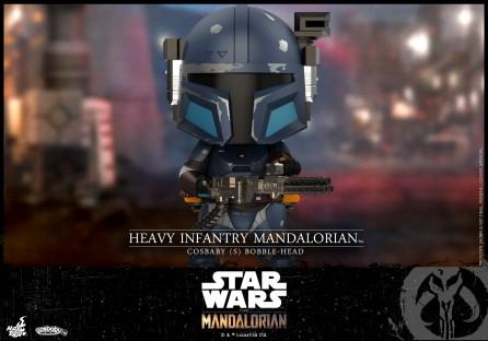 Hot Toys COSB742 Heavy Infantry Mandalorian Cosbaby (S) Bobble-Head