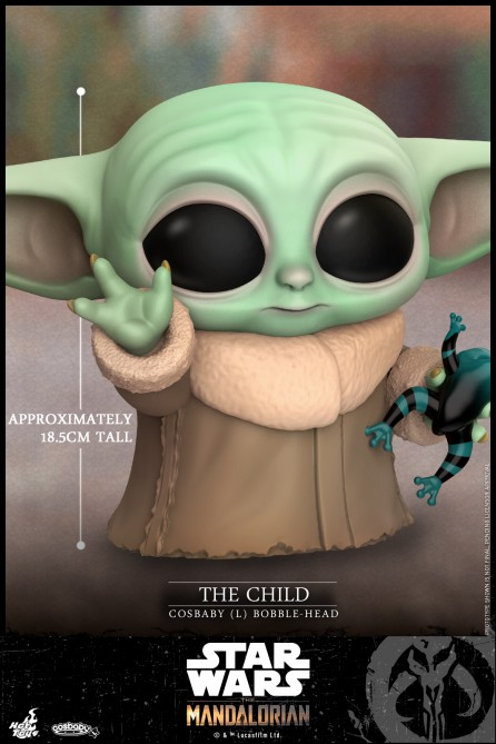 Hot Toys COSB749 The Child Cosbaby (L) Bobble-Head