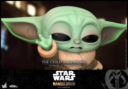 Hot Toys COSB744 The Child (Force Wielding) Cosbaby (S) Bobble-Head