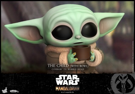 Hot Toys COSB747 The Child (With Bowl) Cosbaby (S) Bobble-Head