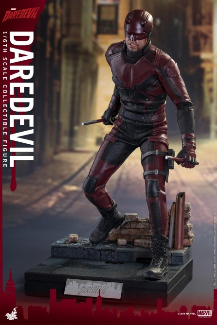 Hot Toys 1/6th Scale TMS003 Marvel's Daredevil Collectible Figure