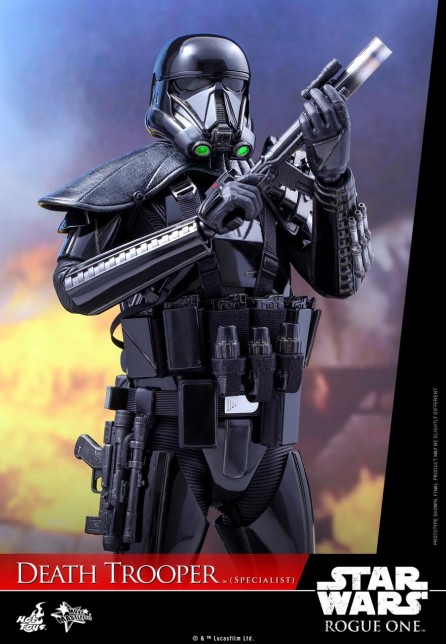 Hot Toys 1/6th Scale MMS385 Rogue One: A Star Wars Story Death Trooper (Specialist) Figure