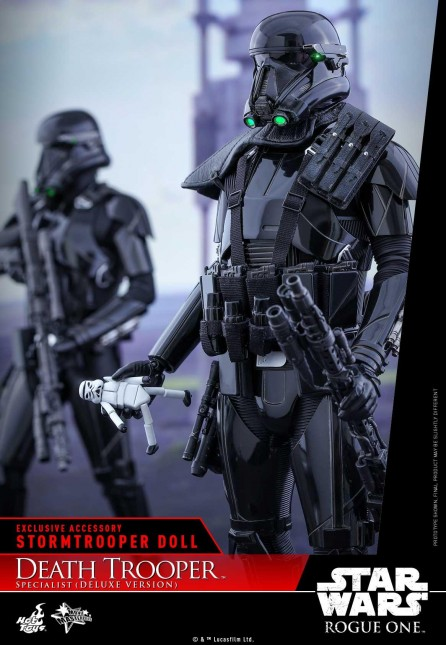 Hot Toys 1/6th Scale MMS399 Rogue One: A Star Wars Story Death Trooper Specialist Figure (Deluxe Version)