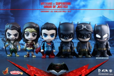 Hot Toys COSB222-227 Batman v Superman Dawn of Justice Cosbaby (S) Series: Set of 6