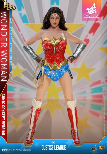 Hot Toys 1/6th Scale MMS506 Justice League Wonder Woman Comic Concept Version (Exclusive)