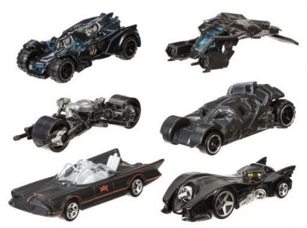 Hot Wheels 1:64 Scale 2015 Batman Batmobile Series