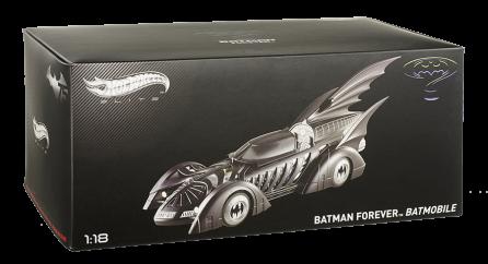 Hot Wheels Elite 1:18 Scale Batman Forever Batmobile