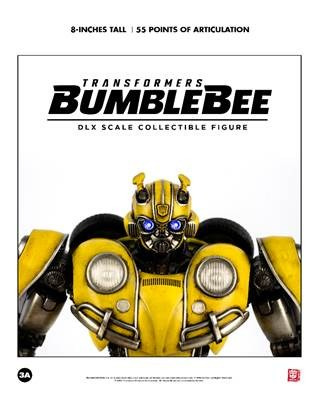 ThreeA Transformers Bumblebee DLX Scale Bumblebee Collectible Figure