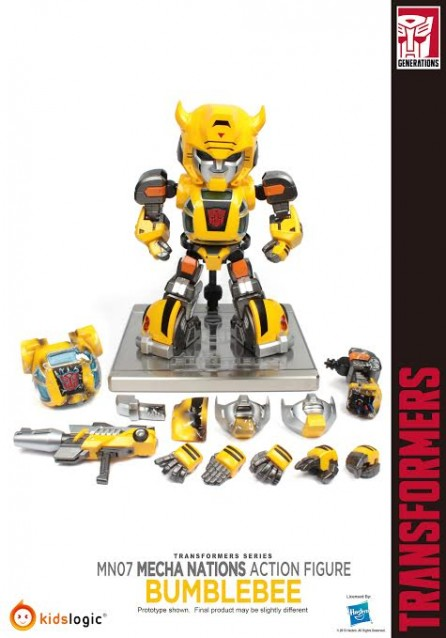 Kidslogic Mecha Nations MN07 Transformers G1 Bumblebee