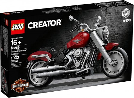 Lego Creator Expert 10269 Harley-Davidson Fat Boy Motorbike