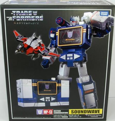 Takara Tomy Transformers Masterpiece MP-13 Soundwave (Re-issue Nov 2019)