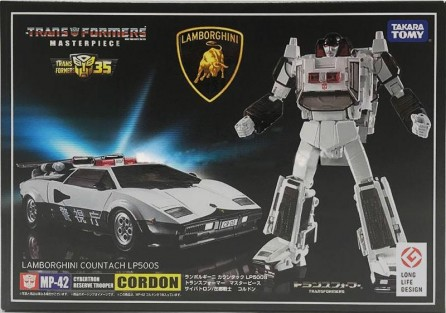 Takara Tomy Transformers Masterpiece MP-42 Cordon
