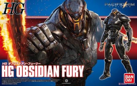 Bandai HG Pacific Rim Uprising: Obsidian Fury