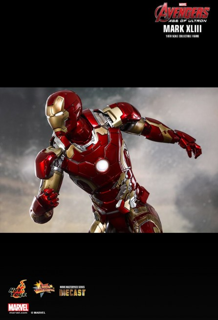Hot Toys 1/6th Scale MMS278D09 – Avengers Age of Ultron Iron Man Mark XLIII Diecast Figure
