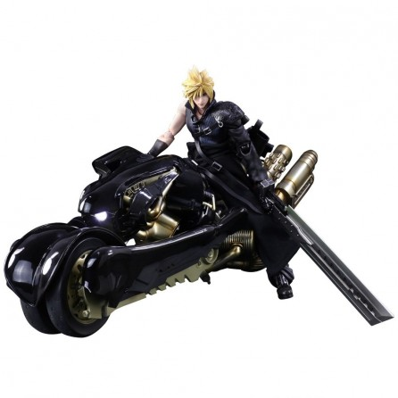 Play Arts Kai Final Fantasy VII Advent Children: Cloud Strife & Fenrir