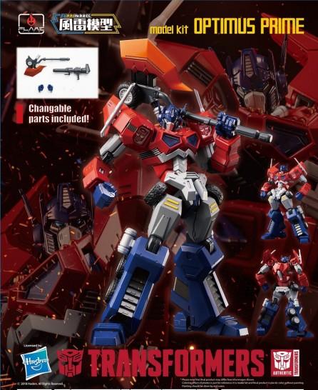 Flame Toys Furai Model 01 Optimus Prime Model Kit