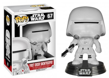 Funko POP! Star Wars EP7 First Order Snowtrooper Figure
