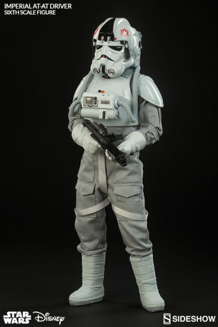 Sideshow 1/6th Scale Star Wars Episode V The Empire Strikes Back Imperial AT-AT Driver