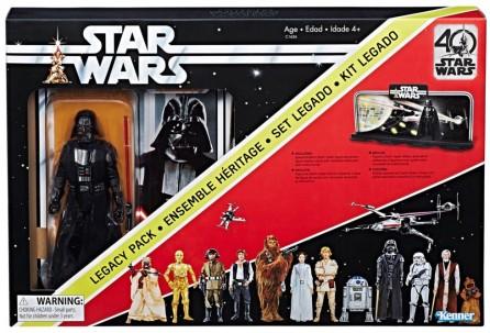 Star Wars A New Hope Black Series 40th Anniversary Darth Vader Legacy Pack