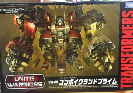 Takaratomy Transformers UW-05 Convoy Grand Prime