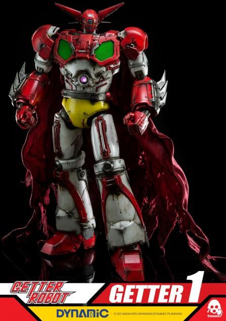 """3A ThreeZero 16"""" Getter Robo Getter 1"""