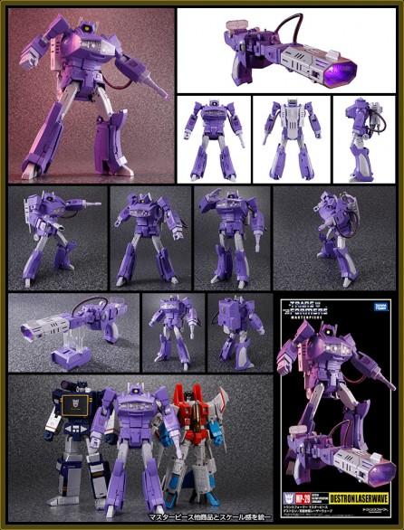 Takaratomy Transformers Masterpiece MP-29 Shockwave / Laserwave