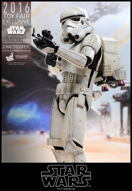 Hot Toys 1/6th Scale VGM23 Star Wars Battlefront Jumptrooper Exclusive Figure