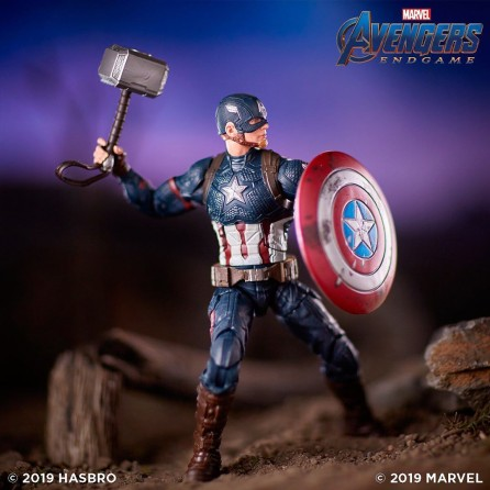 Hasbro Marvel Legends Avengers Endgame Captain America Action Figure