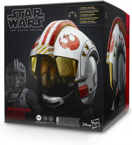 Hasbro Star Wars Black Series Luke Skywalker X-Wing Pilot Helmet