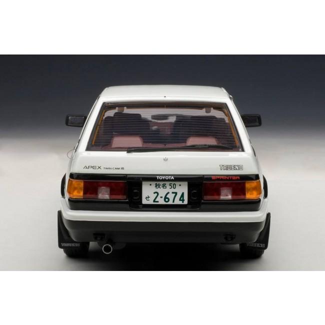 AutoArt 1:18 Scale Toyota Sprinter Trueno (AE86) Initial D