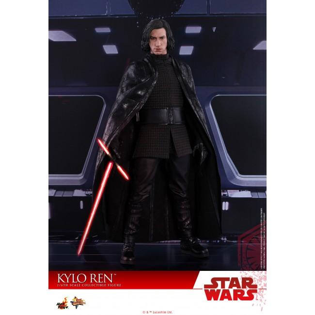 Hot Toys MMS438 Star Wars The Last Jedi Kylo Ren Adam Driver 1//6 Figure Ready