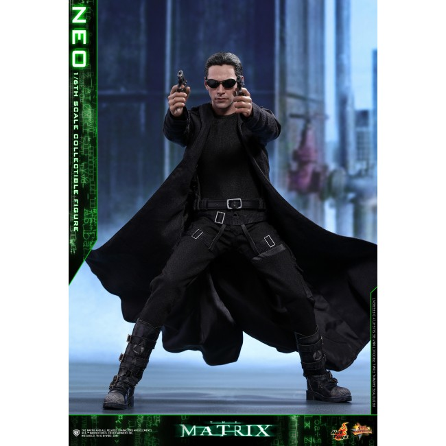 Hot Toys 1/6th Scale MMS466 The Matrix Neo Collectible