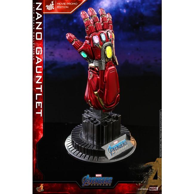 Hot Toys 1//4 Marvel Avengers Endgame ACS008 Nano Gauntlet Movie Promo Ver US