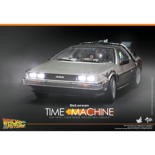 Hot Toys 1 6th Scale Back To The Future Delorean Time