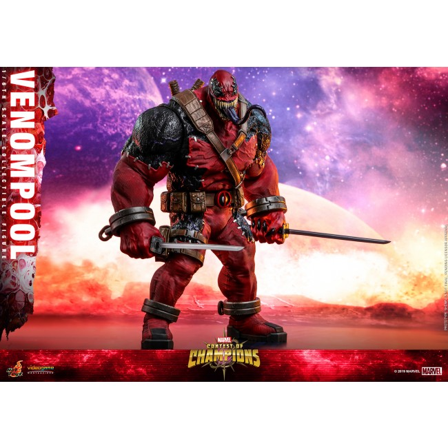 Hot Toys VGM35 | Marvel Contest of Champions Venompool