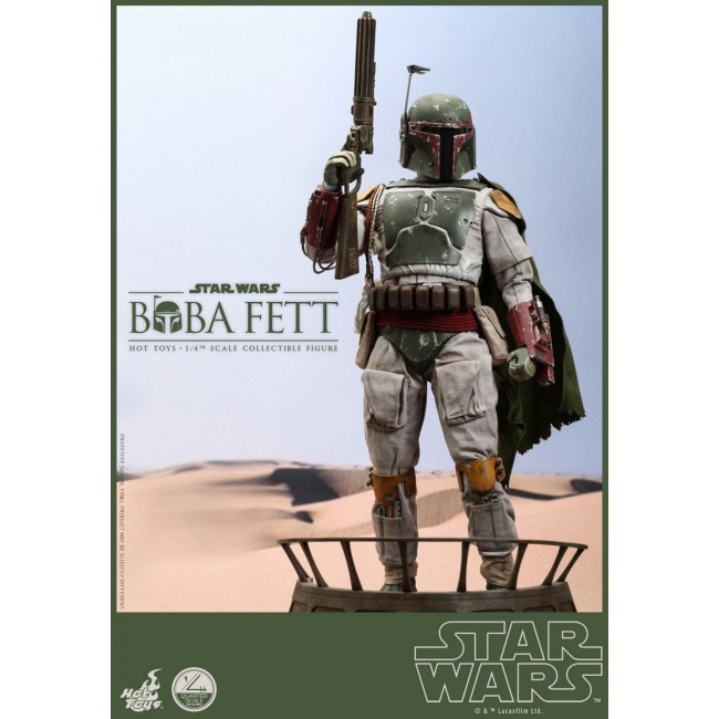 Boba Fett May The 4th Be With You: Hot Toys 1/4th Scale Episode VI Return Of The Jedi Boba